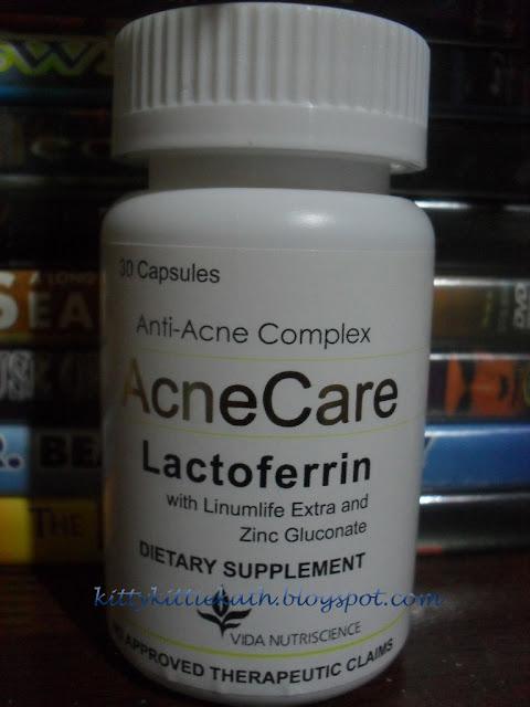 Product Review Acne Care Lactoferrin Anti Acne Complex Dear Kitty