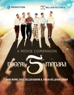 Download Negeri 5 Menara (2012) HDTV Full Movie