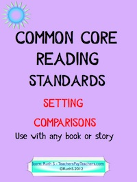 photo of Common Core Setting Comparisons PDF, Teacher Park