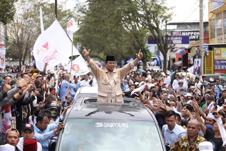 Kampanye Mujur di Cianjur, Cebong Hilangkan #JanganDorongRakyat