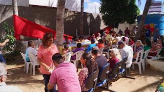 CAPS promove café da manhã especial em comemoração ao dia das mães em Picuí