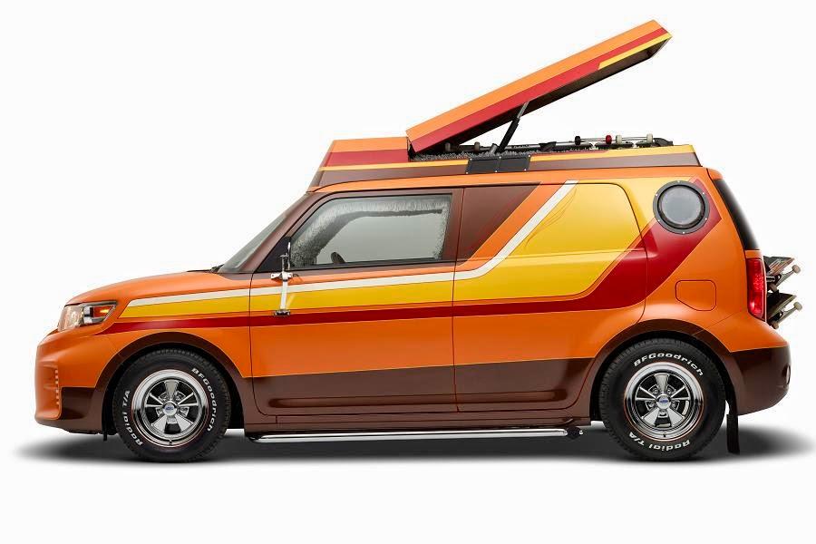 The Scion Xb Becomes A 1970s Custom Van Autoesque