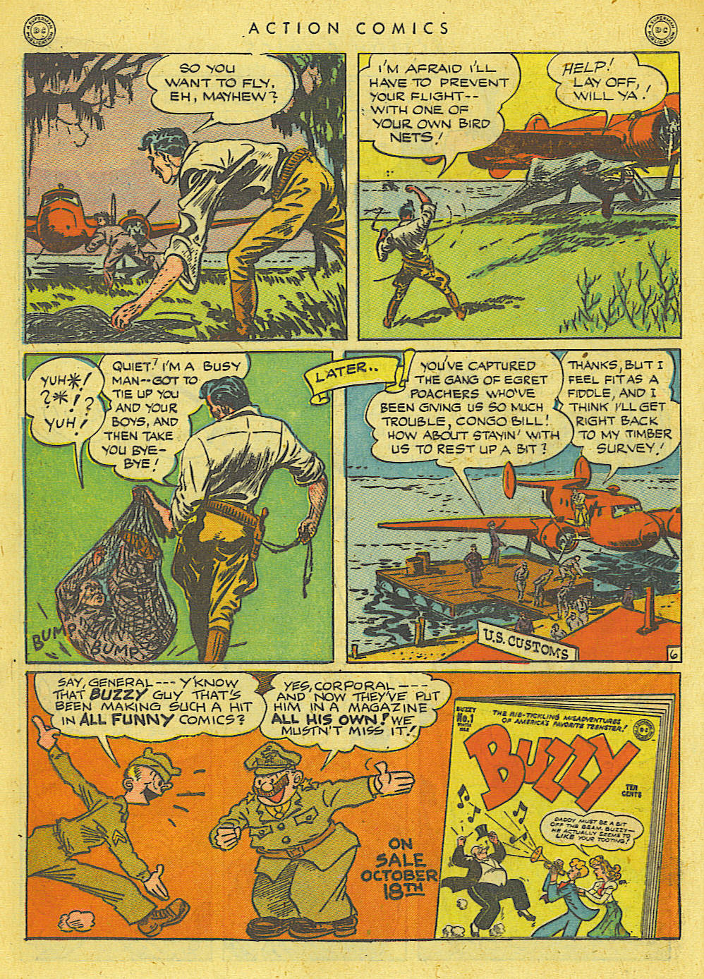 Read online Action Comics (1938) comic -  Issue #78 - 35