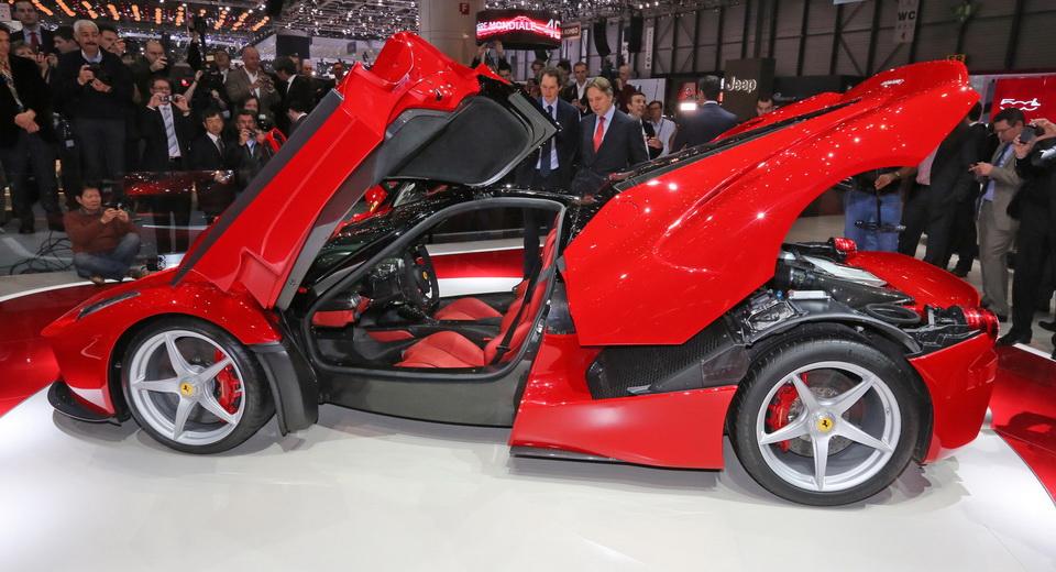 Ferrari Starts Development Of Their Next Flagship