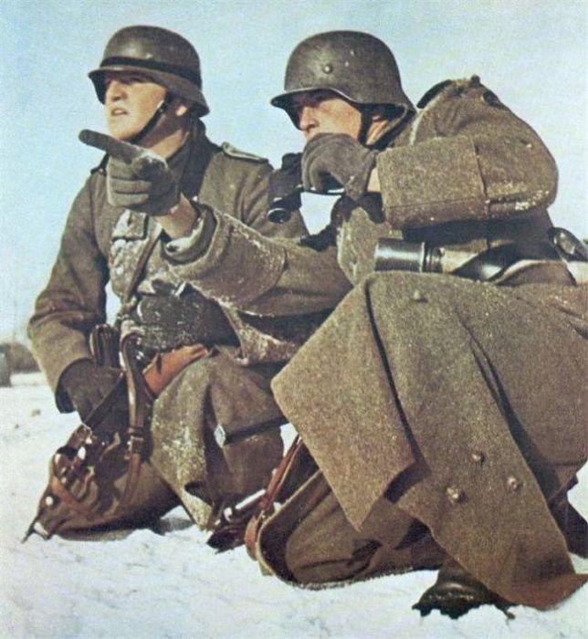 World War II Photos in Color ~ vintage everyday