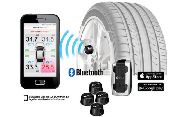 Thiết bị cảm biến áp suất lốp Fobo Tire. Hotline: 0946578248. Công ty TNHH Thương Mại KATA Việt Nam