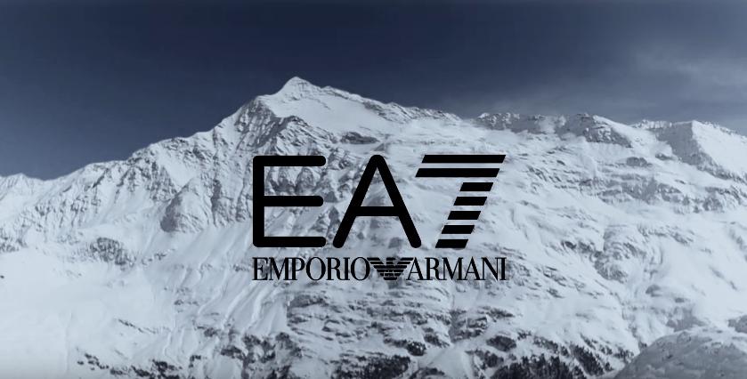 Canzone Emporio Armani 7 pubblicità con modelli sulla neve - Musica spot Novembre 2016