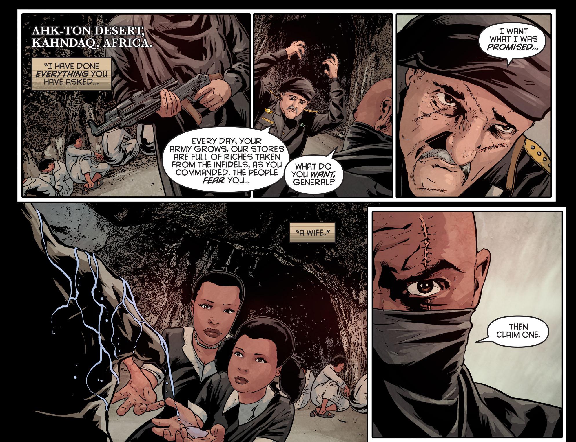 Read online Arrow: Season 2.5 [I] comic -  Issue #9 - 21