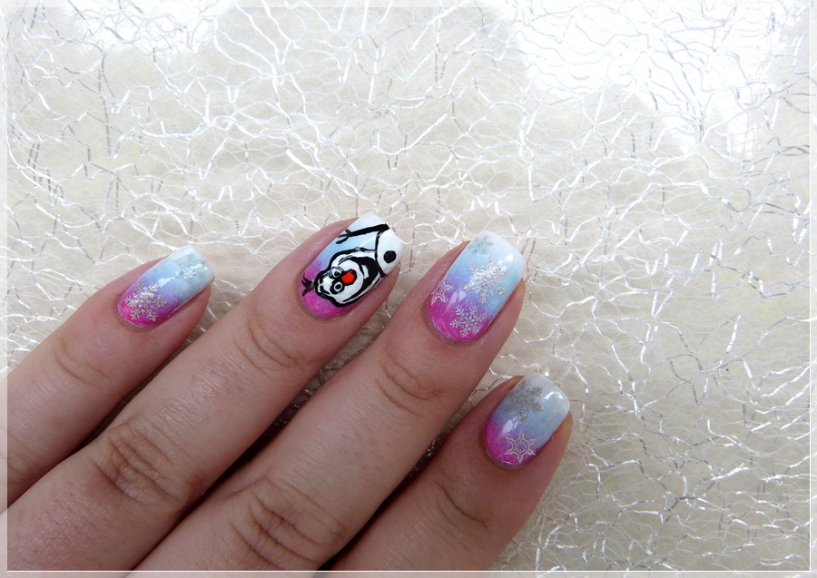 Frozen Nageldesign