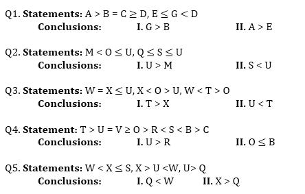 Reasoning Quiz for IBPS PO Prelims_50.1
