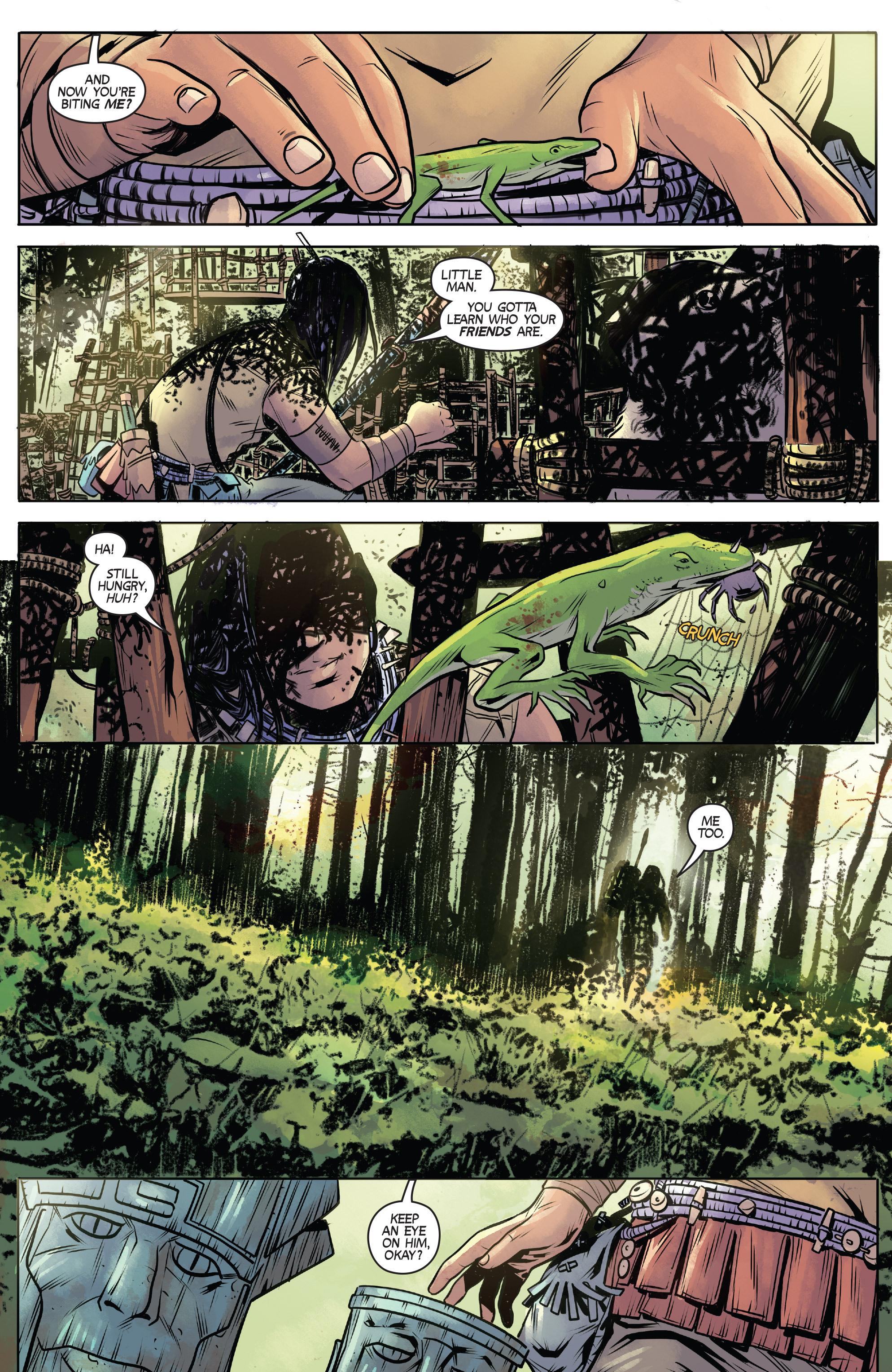 Read online Turok: Dinosaur Hunter (2014) comic -  Issue # _TPB 1 - 8