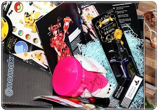 #noMakeNoLife - japoński beauty box- edycja październik '18