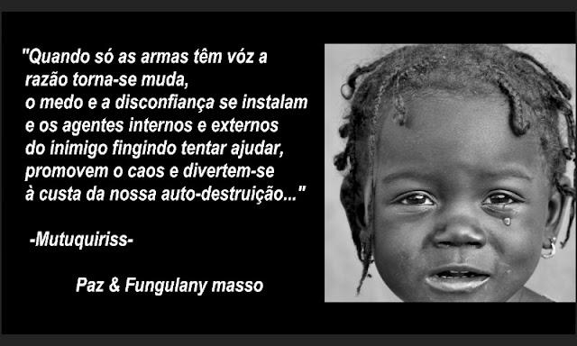 """O rapper moçambicano Mutuquiriss lança o clipe """"Fungulany masso(Abram os olhos)"""""""