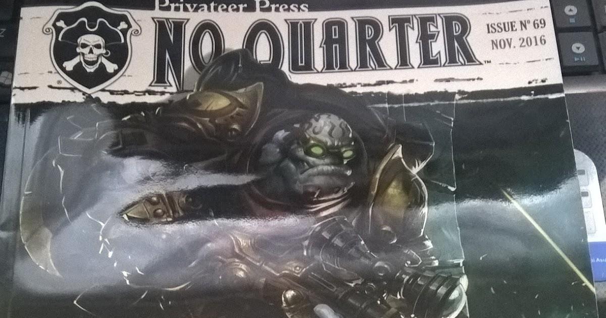 Privateer Press No Quarter Magazine Issue #69 November 2016