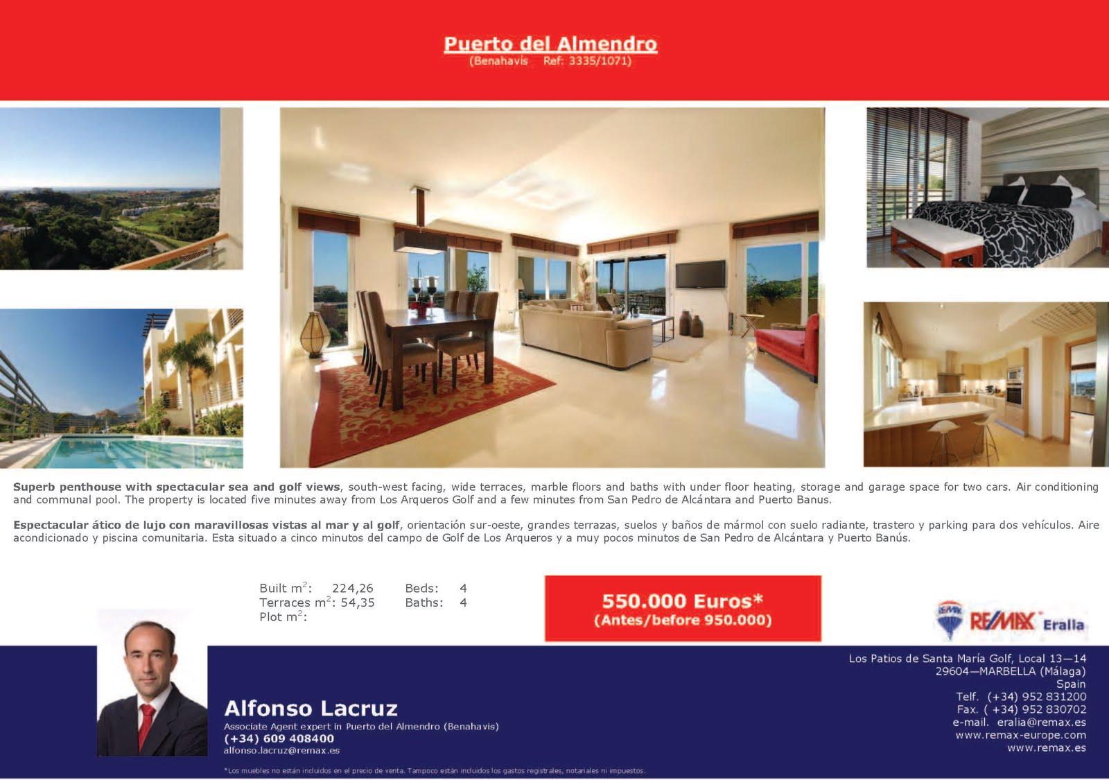 Alfonso Lacruz Real Estate In Benahavis Marbella
