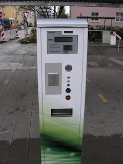 Öffentliche Ladeeinrichtungen für Elektroautos