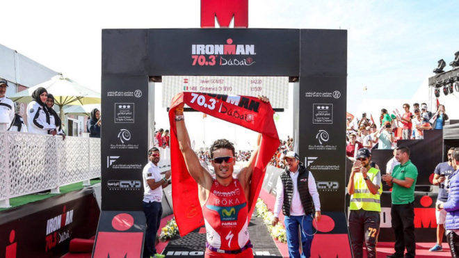 Gómez Noya gana el Medio IronMan 70.3 de Dubai