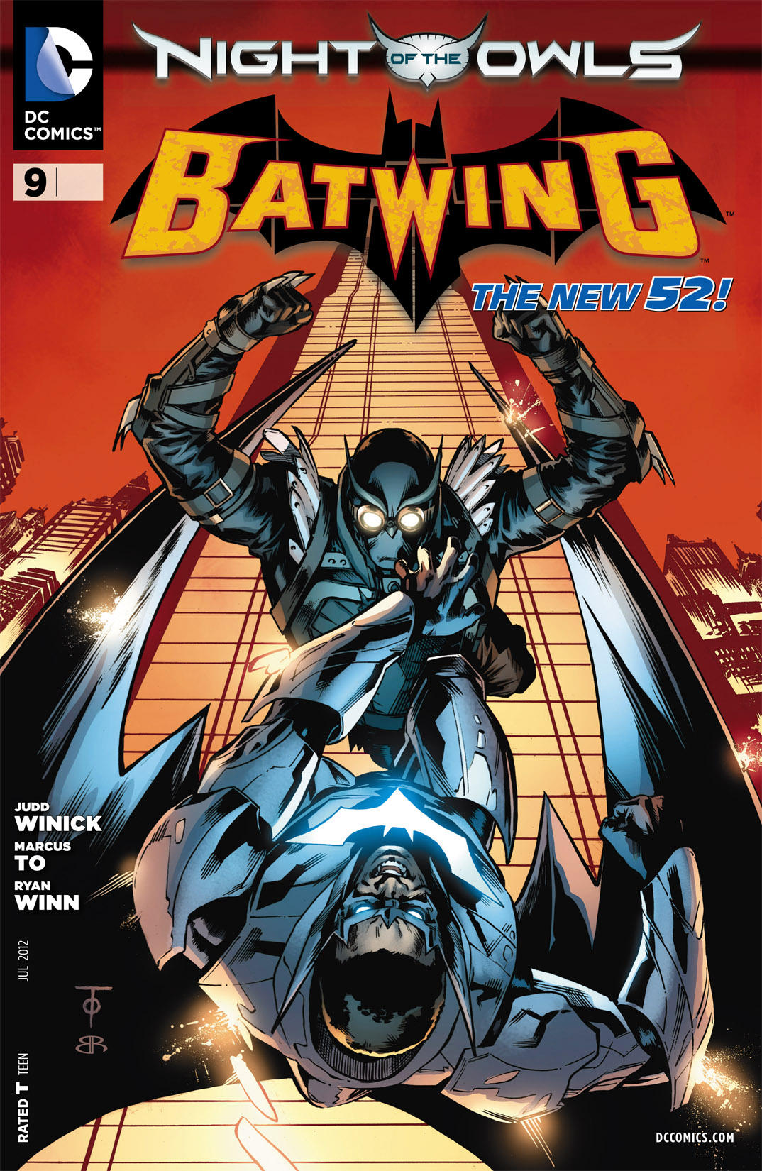 Batwing 9 Page 1