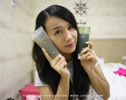 Lia Hasty's Personal Blog: Masker 10 Saat Real Fresh Skin Detoxer Set dari Althea Korea