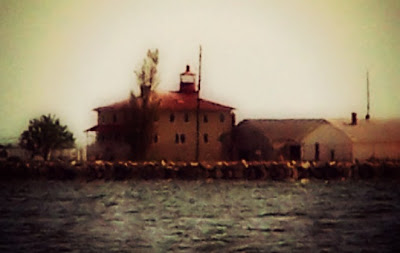 Point Lookout Lighthouse near Scotland, Maryland is thought to be the most haunted lighthouse in North America