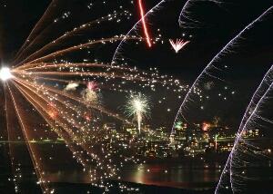 tempat melihat pergantian tahun baru