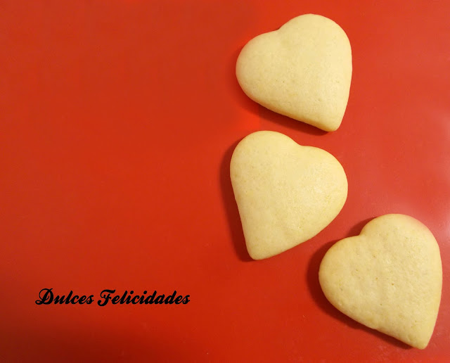 Galletas de mantequilla light con aroma de azahar