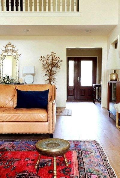 Kombinasi Warna Ungu Cat Ruangan Tamu dan Kamar Tidur yg Bagus