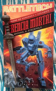 Portada del libro Herencia mortal, de Michael A. Stackpole