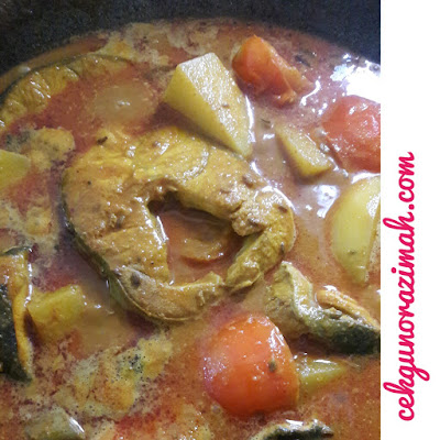 resepi kari ikan, resepi kari ikan yu, kari ikan yu, bahan-bahan membuat kari ikan yu, cara-cara membuat kari ikan yu