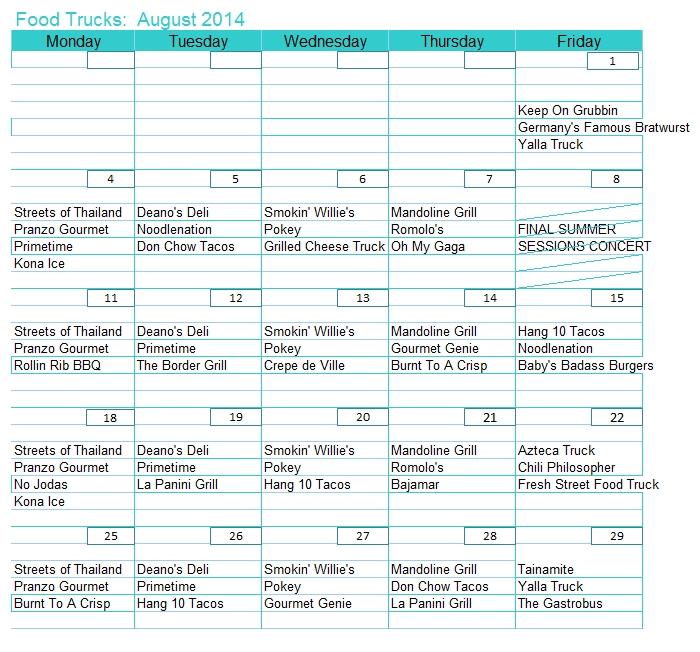Cousins Maine Lobster Food Truck Schedule