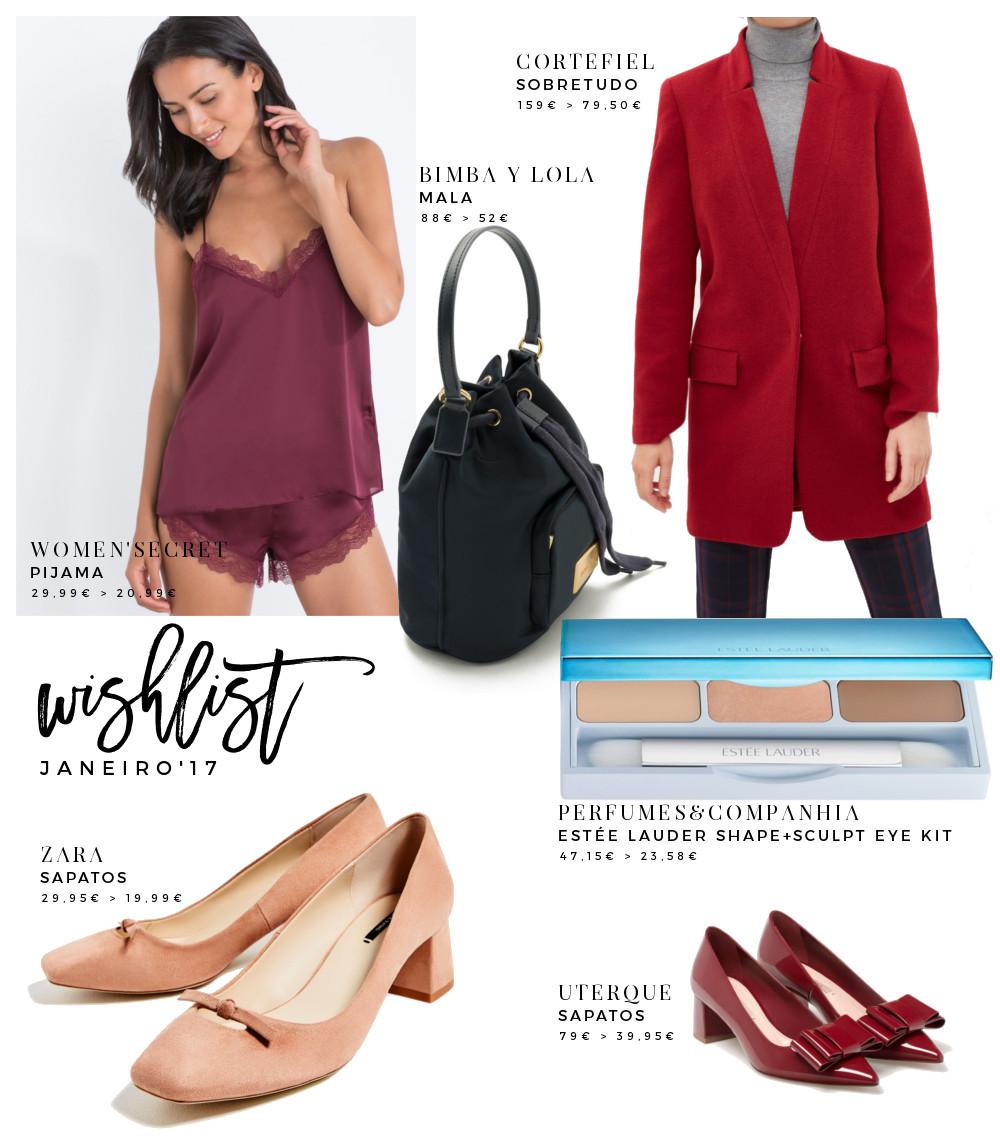 January 2017 Wishlist - Sales Edition
