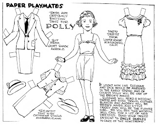 Mostly Paper Dolls Too!: Richard and Polly from Paper