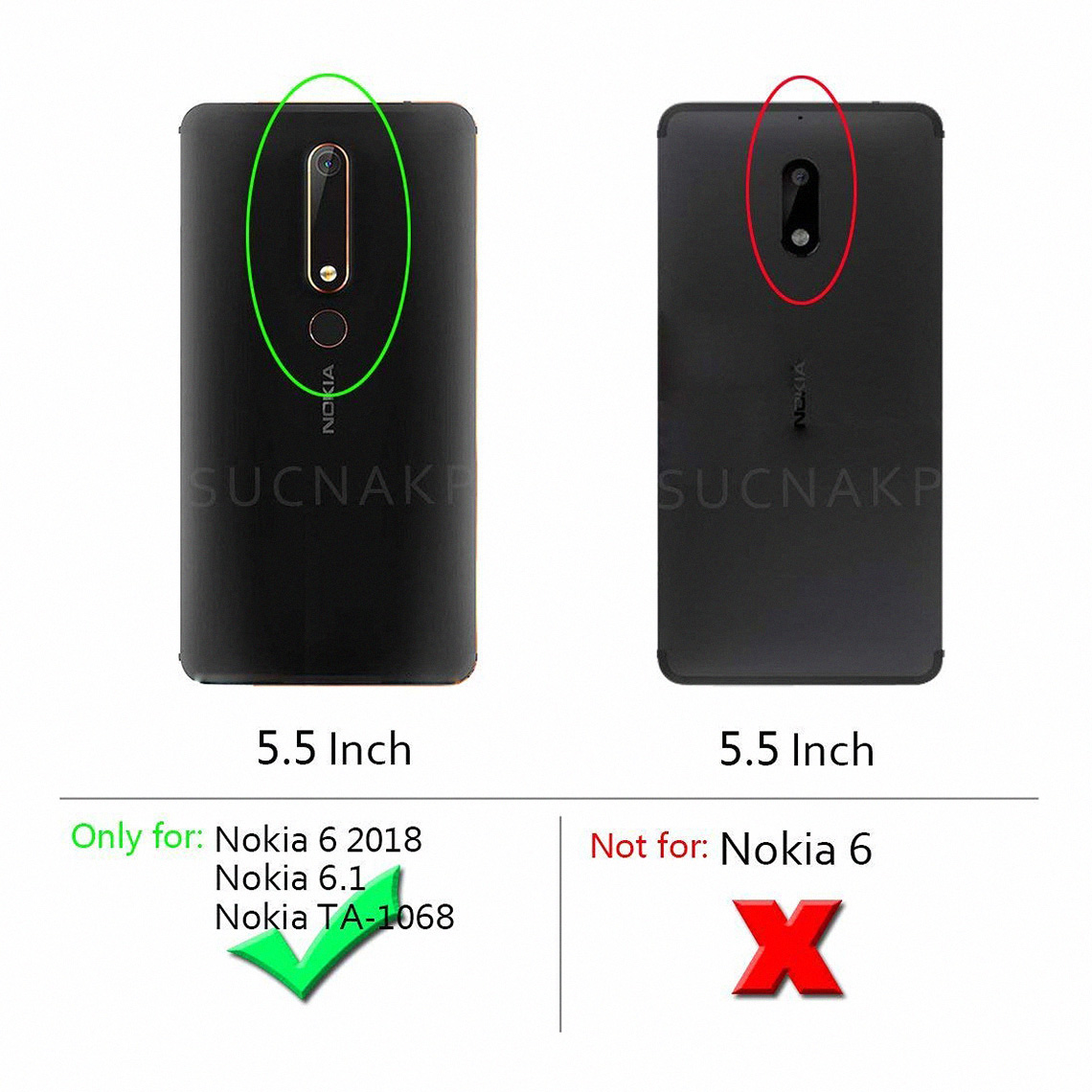 Nokia 6.1 2018 Forro Fibra de Carbono Anti-Shock