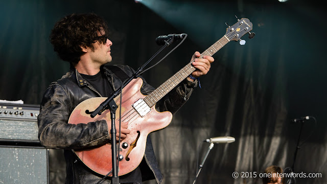 Black Rebel Motorcycle Club on the East Stage Fort York Garrison Common September 20, 2015 TURF Toronto Urban Roots Festival Photo by John at One In Ten Words oneintenwords.com toronto indie alternative music blog concert photography pictures