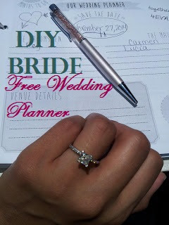 Sleepless in diy bride country how to make your own wedding i already had a binder that i loved so i started with that i did get it at staples and its a martha stewart office supply 1 inch binder junglespirit Choice Image