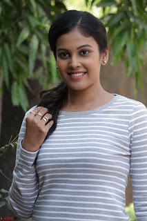 Actress Chandini in ed Tight Top at Ennodu Yilayadu tamil movie press meet ~  34.jpg