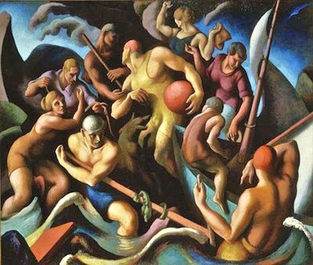 1920 Americas Paintings