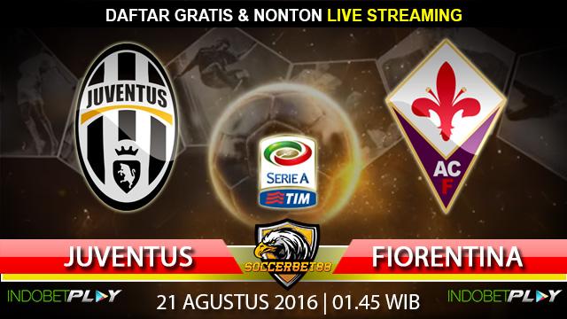 Prediksi Juventus vs Fiorentina 21 Agustus 2016 (Liga Italia)