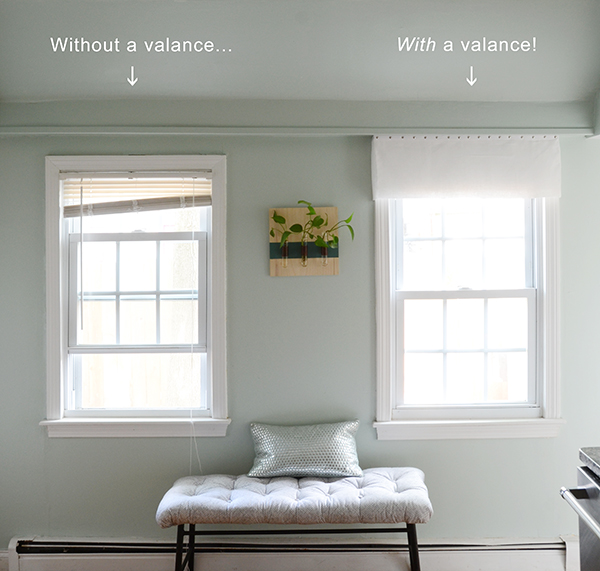 Design Fixation: Easy DIY No-Sew Window Valance