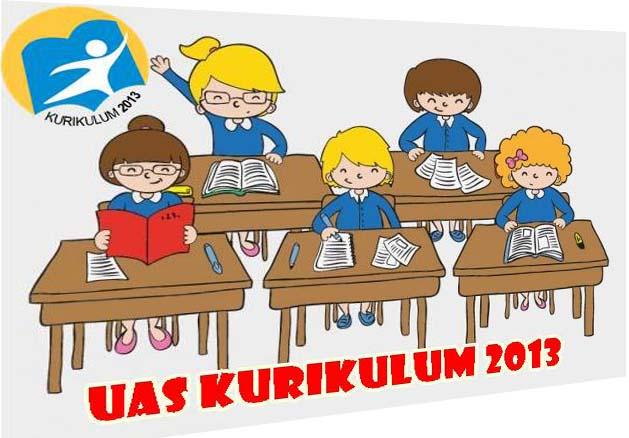Contoh Soal UAS SD Kurikulum 2013 Revisi Tahun 2016