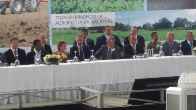 San Juan: Presidente Medina lanzó Proyecto transformación y reinvención agrícola, US$38 millones
