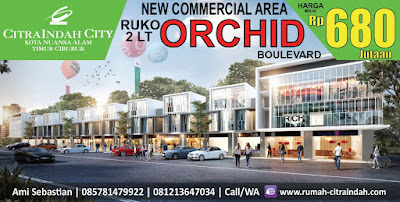 ruko Orchid Citra Indah City