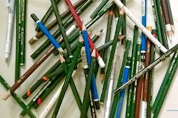 Macam - Macam Pensil untuk Menggambar dan Melukis