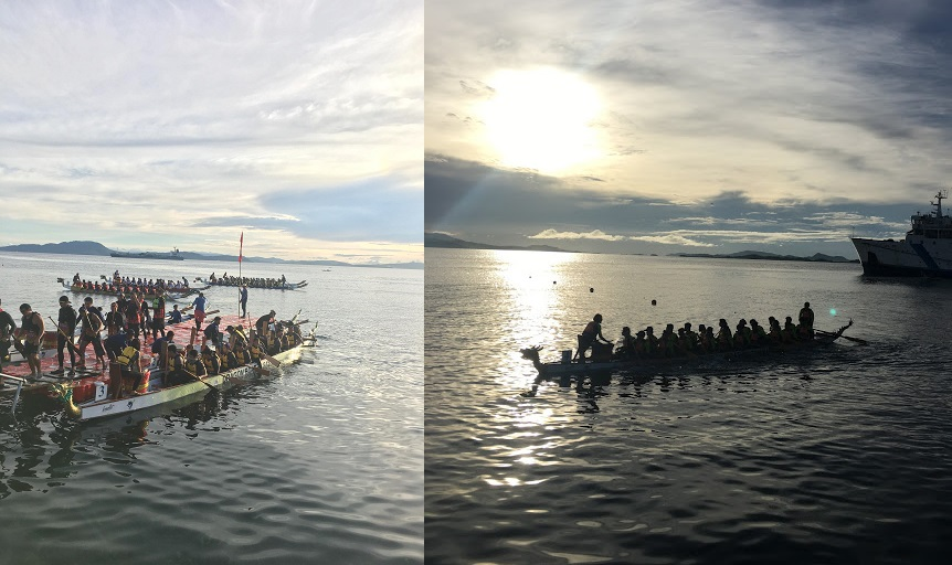 INTERNATIONAL DRAGON BOAT RACE IN SURIGAO DEL NORTE 2018