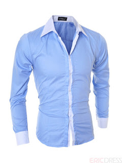 Single-Breasted Fall Men's Shirt