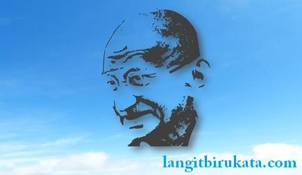 Kata-Kata Bijak Mahatma Gandhi Bahasa Inggris