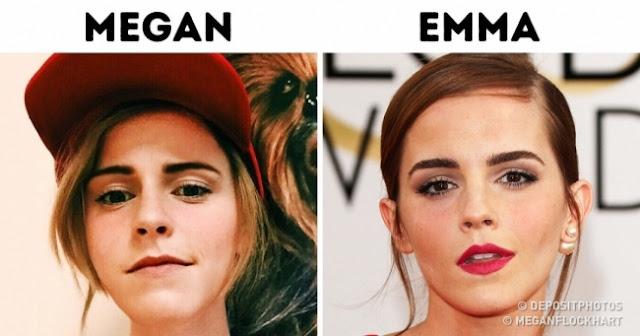 Pessoas comuns que são a cara de famosos