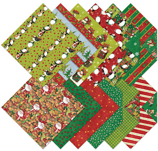 K&Company Designer Paper Pad by Susan Winget, Penguin Christmas