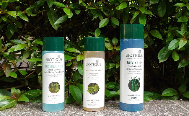 Biotique Hair Care Regime Products Shampoo, Conditioner And Hair Oil Review