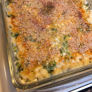 broccoli mac n cheese